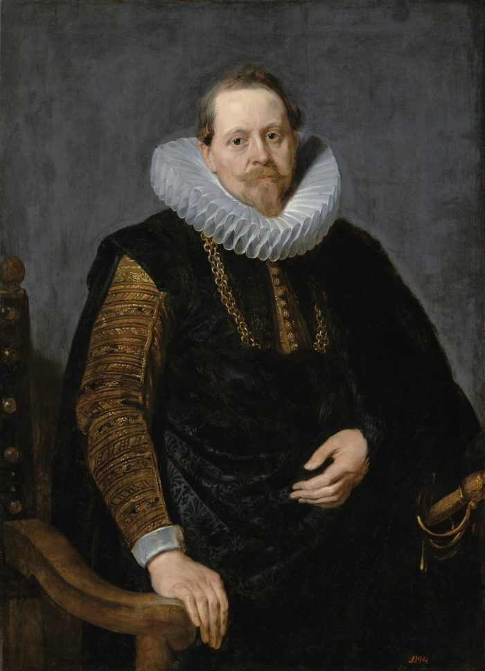 Unknown artist, after Peter Paul Rubens (1577-1640) or Anthony van Dyck (1599-1641), Portrait of Jean-Charles de Cordes Royal Łazienki Museum, Warsaw