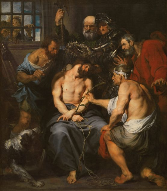 Anthony van Dyck (1599-1641), Christ Crowned with Thorns, ca. 1620 Museo del Prado, Madrid