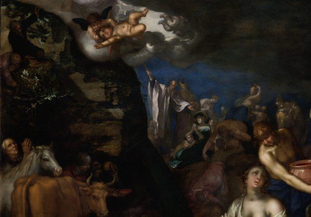 Abraham Bloemaert (1566-1651), Moses Striking the Rock (detail), 1611 Städel Museum, Frankfurt am Main