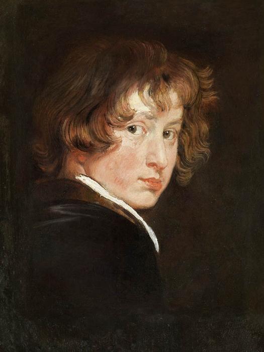 Anthony van Dyck (1599-1641), <em>Self portrait</em>, 1613-1615 Gemäldegalerie der Akademie der Bildenden Künste , Vienna
