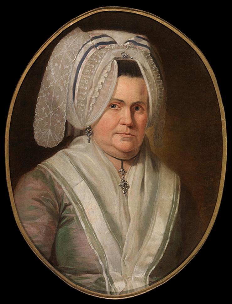 Paul Josef de Cock (1724-1801), Portrait of Maria Coutteau, 1770-1801 Groeningemuseum, Bruges