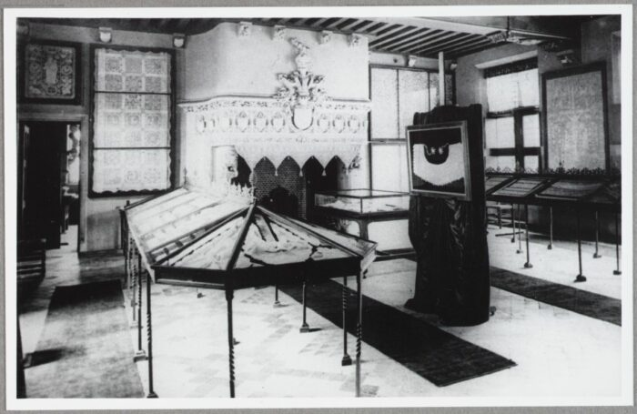Presentation of the lace collection in 1904