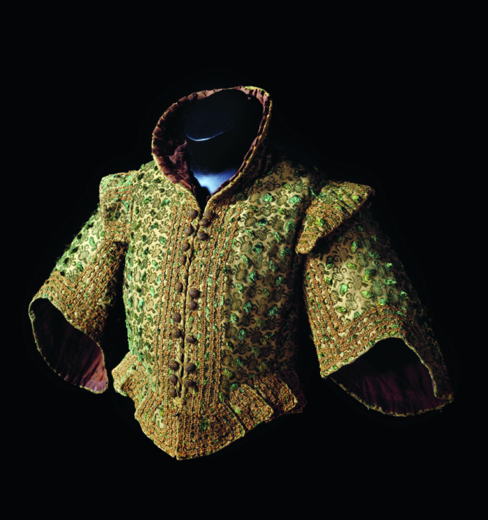 Boy's jacket, late sixteenth century, with Italian velvet Gemeentemuseum, The Hague
