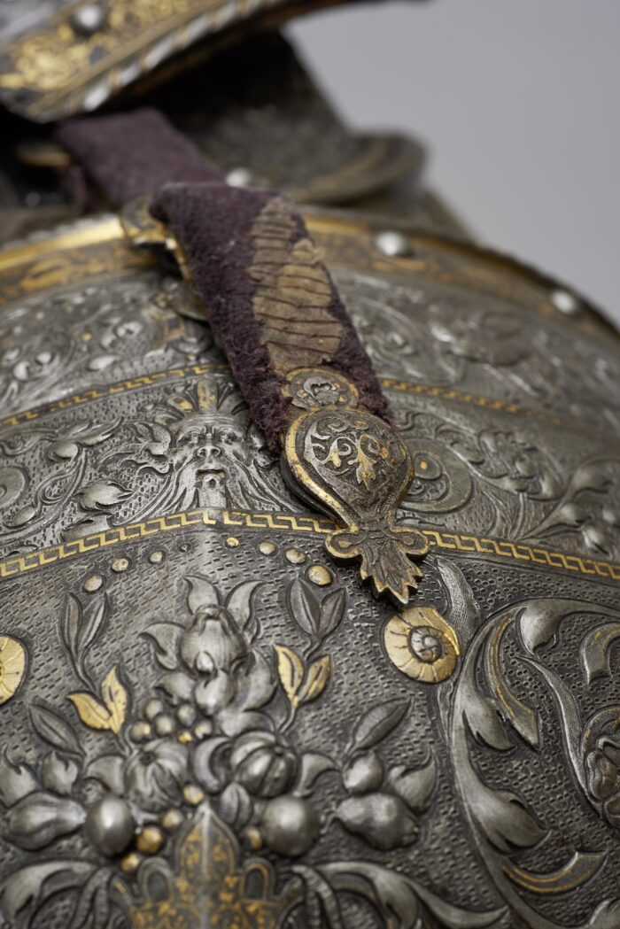 Fig. 10: Detail of The so-called Hercules Armor of King (Emperor) Maximilian II
