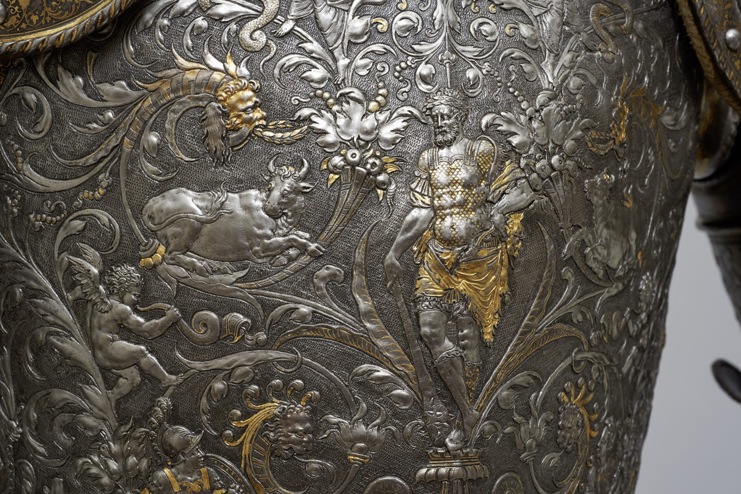Fig. 2: Detail of The so-called Hercules Armor of King (Emperor) Maximilian II