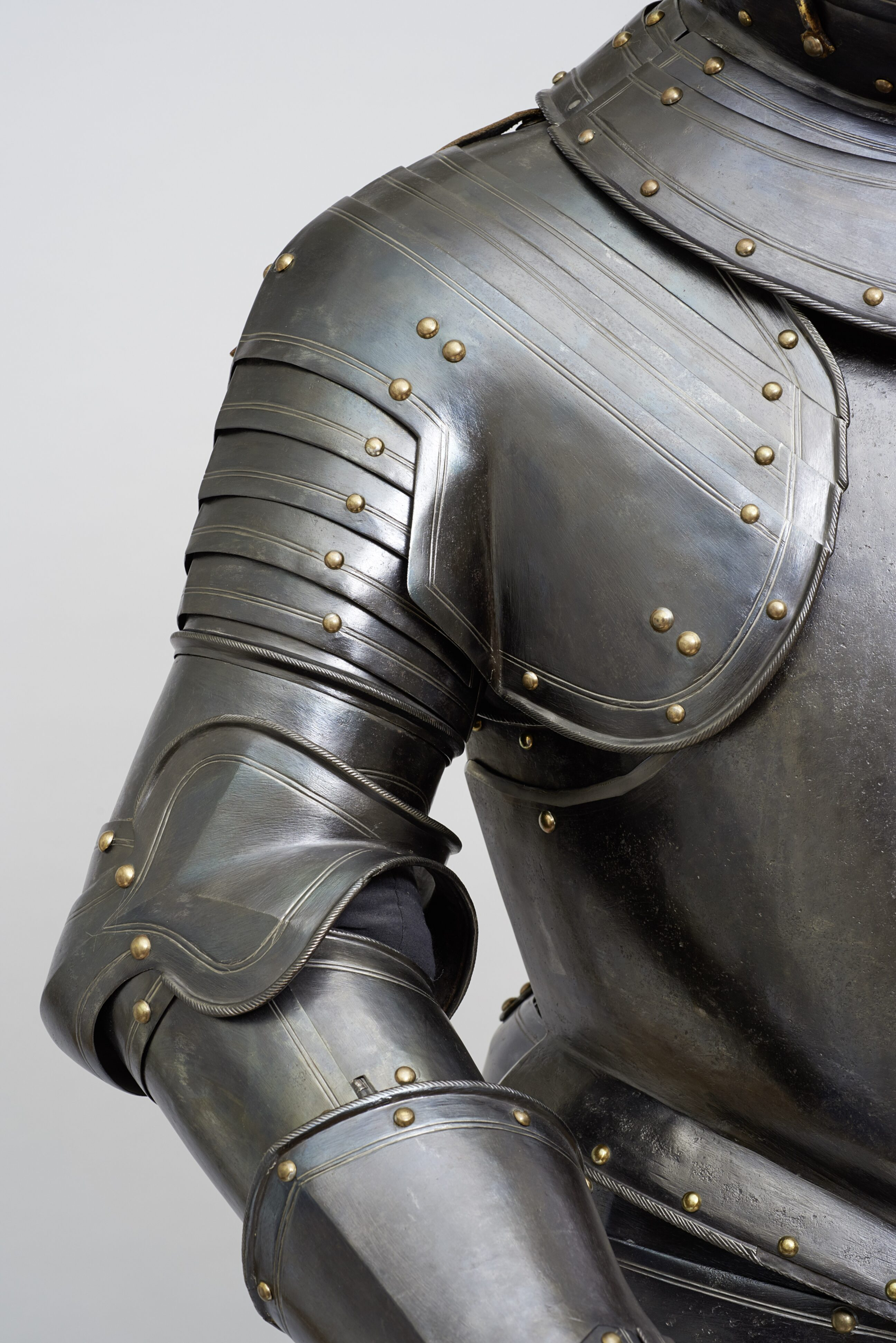 Fig. 4: Detail of The cavalry armor made for Maurits, prince of Orange