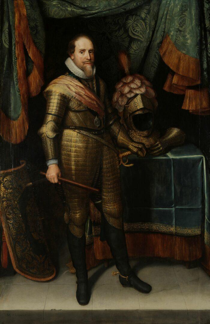 Fig. 9: Michiel Jansz van Mierevelt (1566-1641), Portrait of Maurits, prince of Orange, ca. 1613/20 Rijksmuseum, Amsterdam