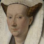 Jan van Eyck (1390-1441), Portrait of Margareta van Eyck (detail), 1439, Groeninge Museum, Bruges