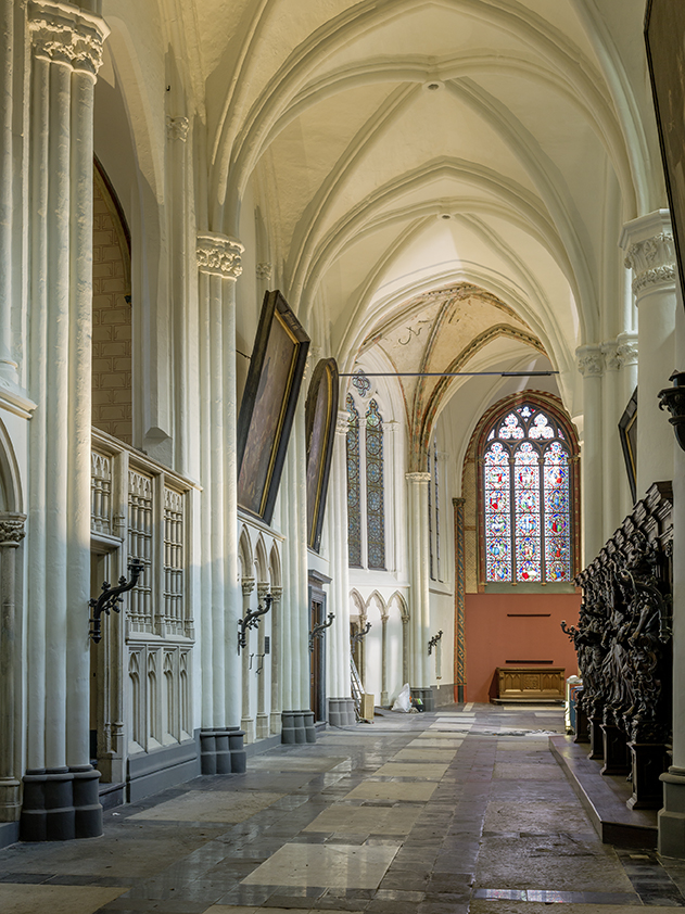 Interior of the Church of Our Lady, Bruges