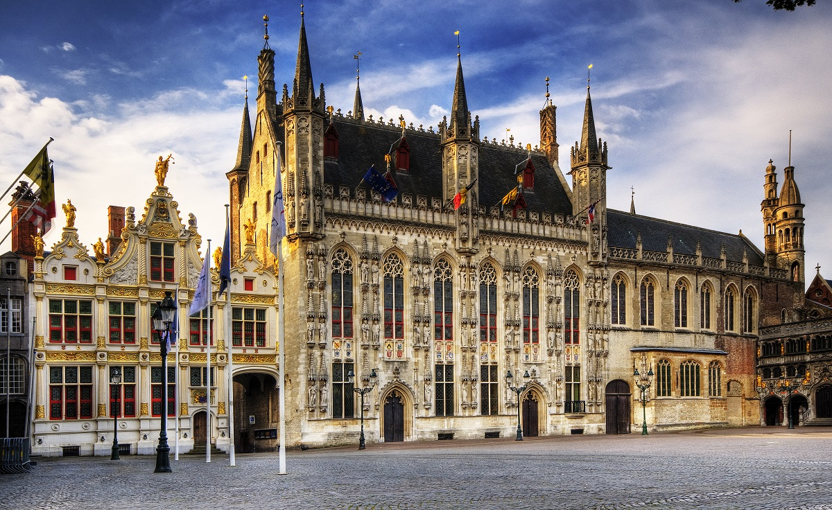 Bruges City Hall - Photo: Wolfgang Staudt