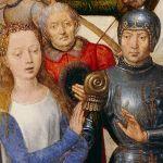 Hans Memling (ca. 1433-1494), The Shrine of Ursula (detail), 1489, Sint-Janshospitaal, Bruges