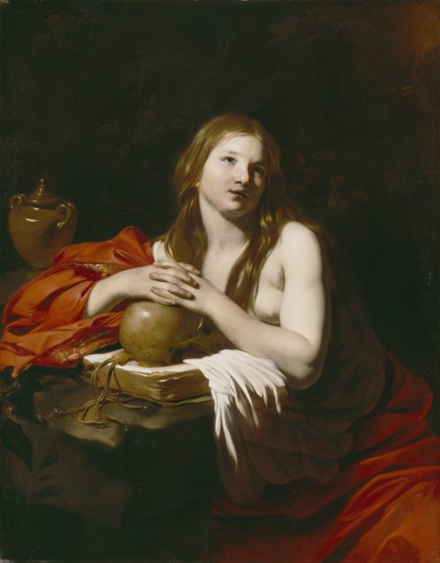 Nicolas Régnier (ca. 1588-1667), The Repentant Magdalene, ca. 1625 Detroit Institute of Arts, Detroit