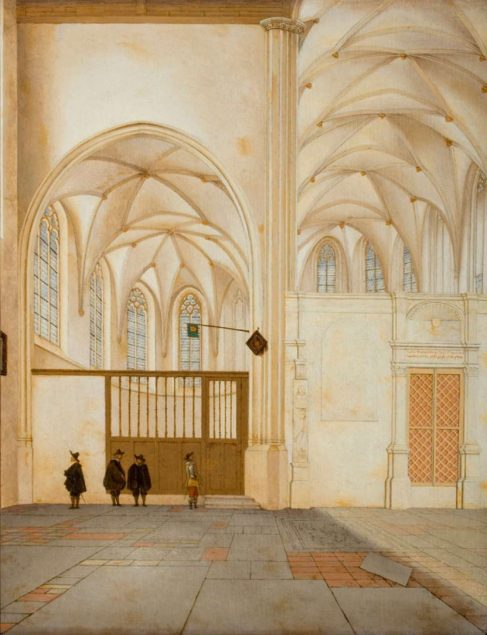 Pieter Jansz. Saenredam (1597-1665), The North Transept and Choir Chapel of Sint Janskerk, Utrecht, 1655 Susan and Matthew Weatherbie Collection