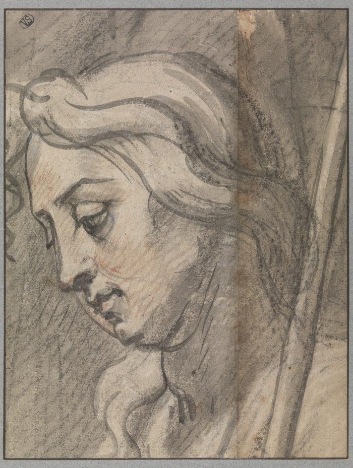 Theodoor van Thulden, <em>Hoofd van een herder</em>, Groeningemuseum (Musea Brugge), Prentenkabinet