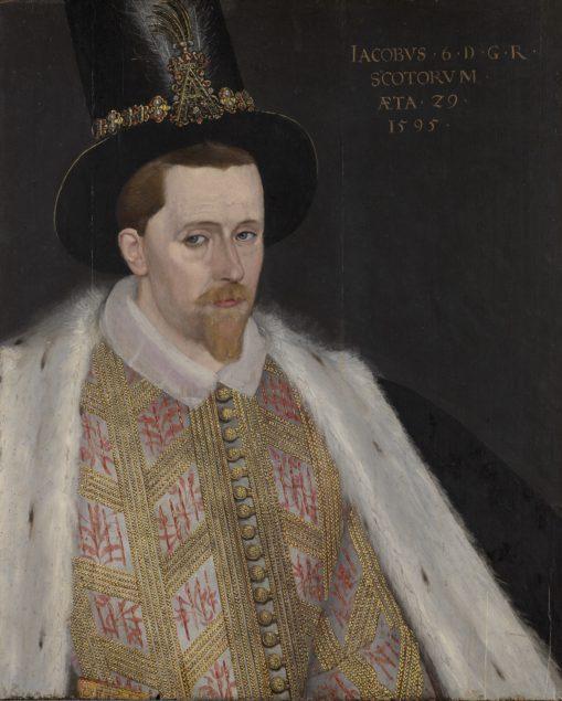 Adrian Vanson (act. around 1581 - 1610), James VI and I (1566 – 1625) 1595 National Galleries of Scotland, Edinburgh