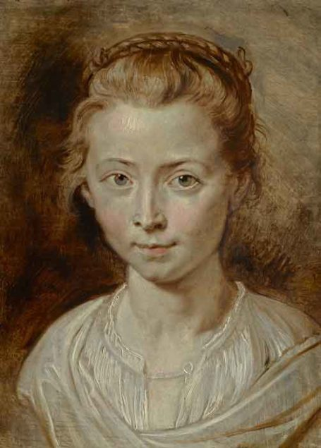 Peter Paul Rubens (1577-1640), Portrait of the Artist's Daughter Clara Serena, ca. 1623 Private collection