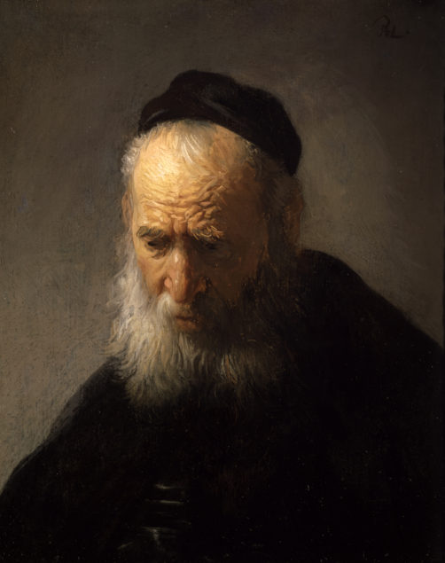 Rembrandt (1606-1669), Head of an Old Man in a Cap, ca. 1630 Agnes Etherington Art Centre at Queen's University, Kingston