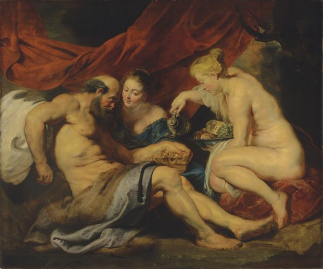 Peter Paul Rubens (1577-1640), Lot and His Daughters, ca. 1613-14 From the collection of an anonymous charitable foundation