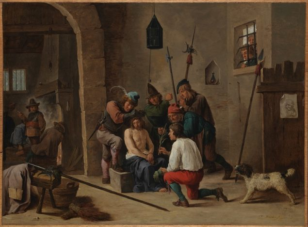 David Teniers the Younger (1610-1690), <em>Christ Crowned with Thorns</em>, 1641 Gift from the collection of Willem Baron van Dedem, 2017 © The National Gallery, London