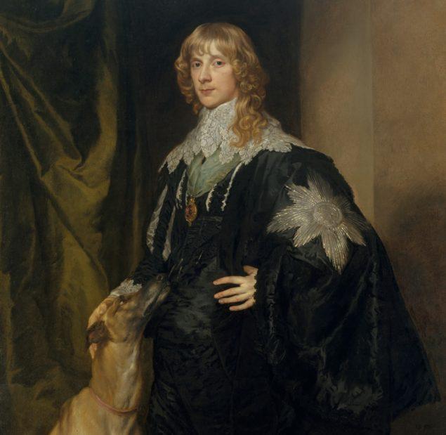 Anthony van Dyck (1599-1641),<em> James Stuart (1612–1655), Duke of Richmond and Lennox</em>, ca. 1633–35<br>Metropolitan Museum of Art, New York