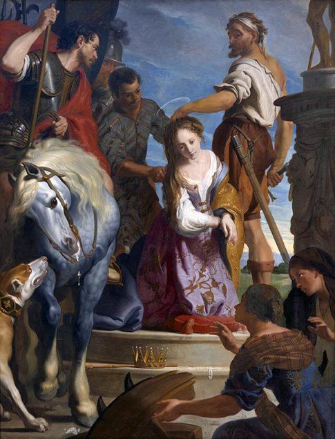 Gaspar de Crayer (1584-1669), Le Martyre de saint Catherine, ca. 1622 Musée des Beaux-Arts, Grenoble
