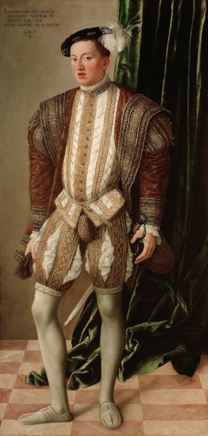 Jakob Seisenegger (1505−1567), <em>Archduke Ferdinand II as the Governor of the Lands of the Bohemian Crown</em>, 1548 Kunsthistorisches Museum, Vienna