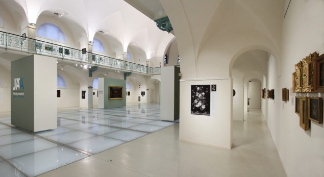 Broad view of the exhibition at the Liberec Regional Gallery