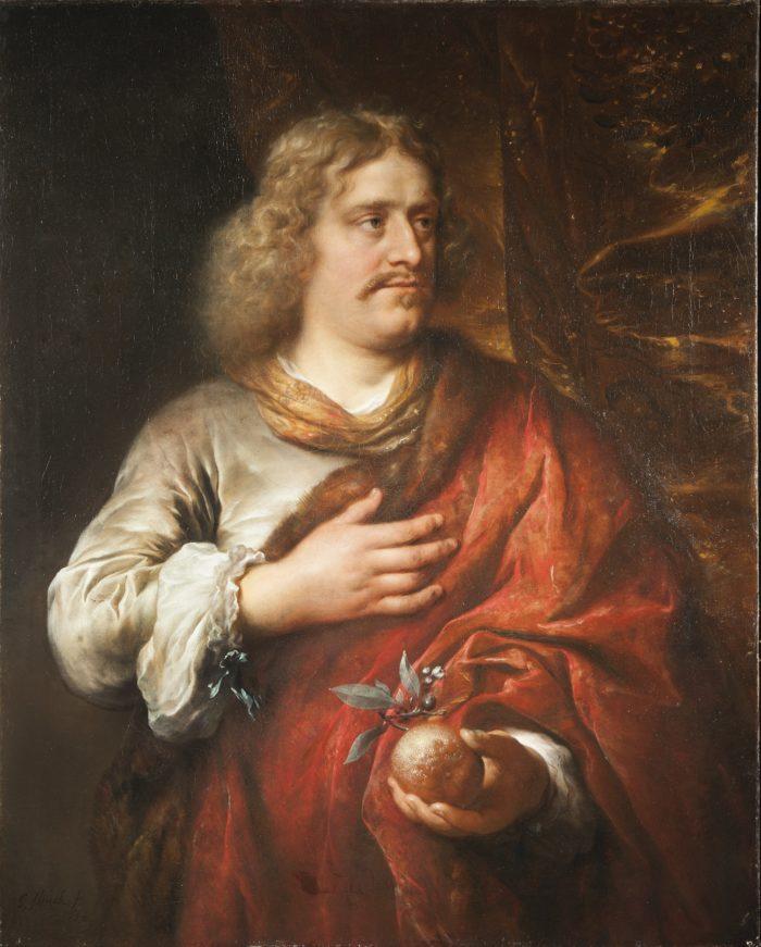 Govert Flinck (1615-1660), Portrait of a man, possibly Johan de Mauregenault, 1654 Private Collection