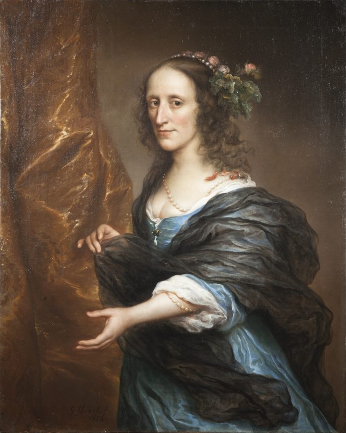 Govert Flinck (1615-1660), Portrait of a woman, possibly Petronella van Panhuys t, 1654 Private Collection