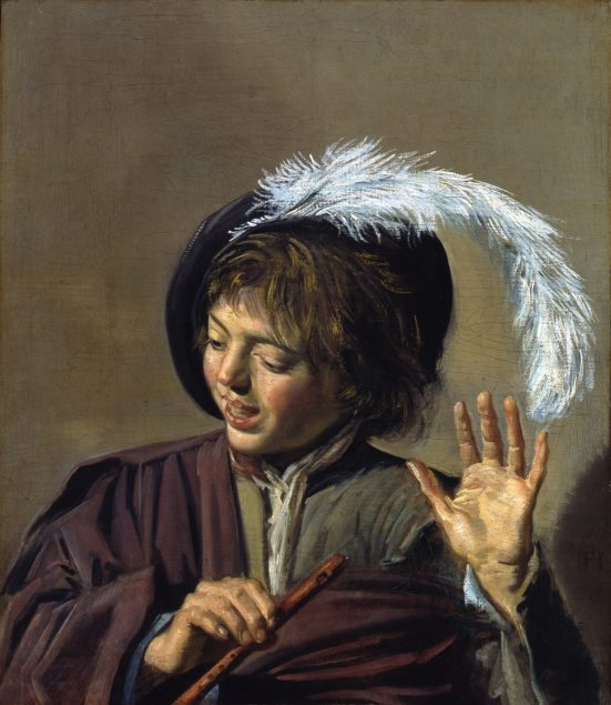 Frans Hals (1582-1666), <em>Singing Boy with a Flute</em>, ca. 1623 Gemäldegalerie, Berlin