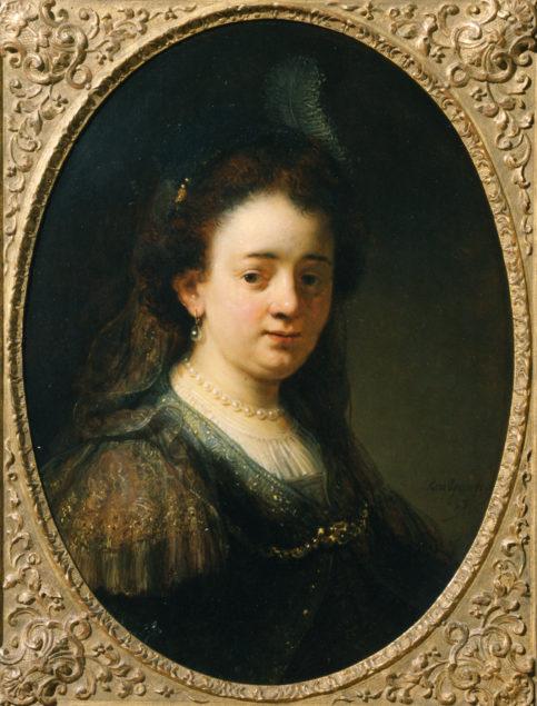 Govert Flinck, (1615-1660), <em>Portrait of Saskia Uylenburgh</em>, ca. 1635 Museum of Friesland, Leeuwarden, on loan from the Cultural Heritage Agency of the Netherlands