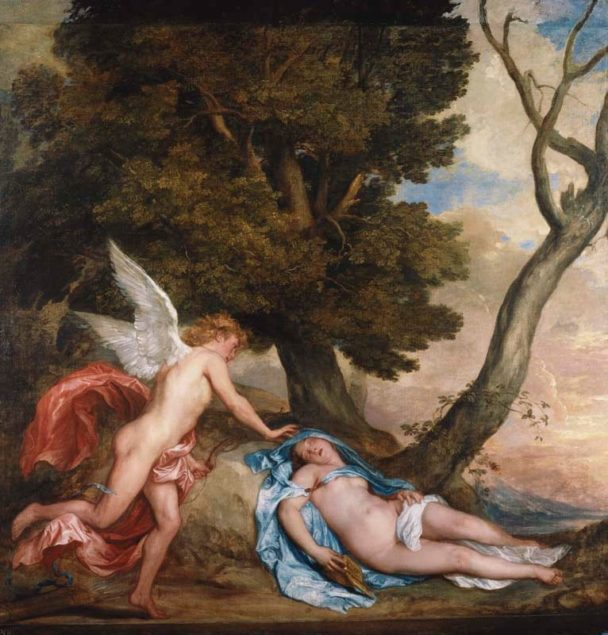 Anthony van Dyck (1599-1641), <em>Cupid and Psyche</em>, 1639-40 Royal Collection Trust