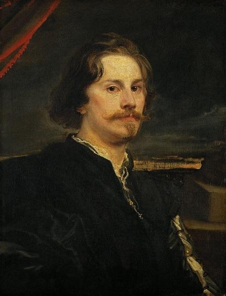 Anthony Van Dyck (1599–1641),Portrait of a Man, now identified as Pieter Soutman ca. 1628 Kunsthistorisches Museum, Vienna