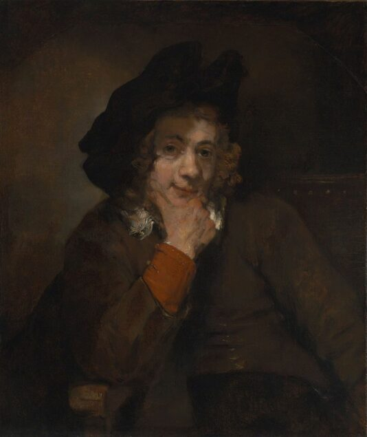 Rembrandt (1606-1609), <em>Titus, the Artist's Son</em>, 1660 Baltimore Museum of Art