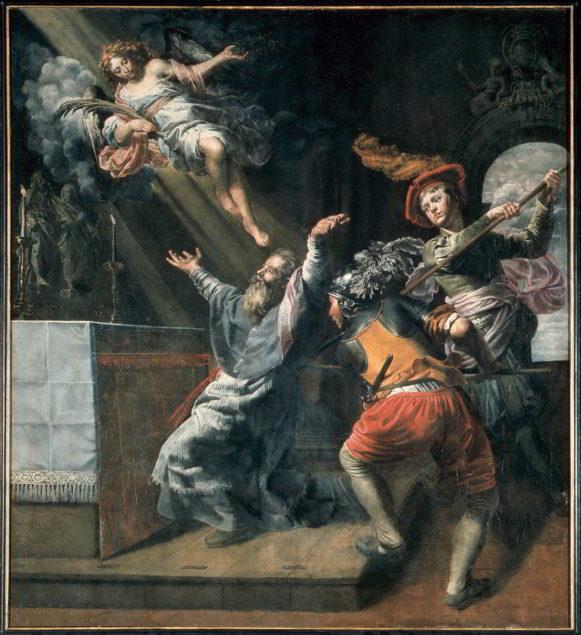 Theodoor van Loon (1581-1649), <em>The Death of Saint Lambert</em>, ca. 1617 Saint Lambert Church, Sint-Lambrechts-Woluwe