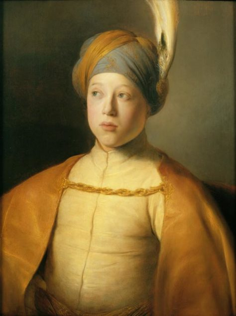 Jan Lievens (1607-1674), <em>Boy in a Cape and Turban (Portrait of Prince Rupert of the Palatinate)</em> ca. 1631<br>The Leiden Collection, New York