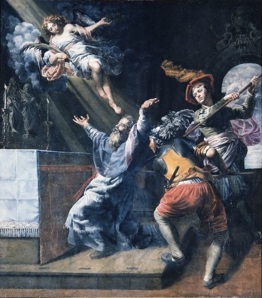 Theodoor van Loon (1581-1649), The Death of Saint Lambert, ca. 1617 Saint Lambert Church, Sint-Lambrechts-Woluwe