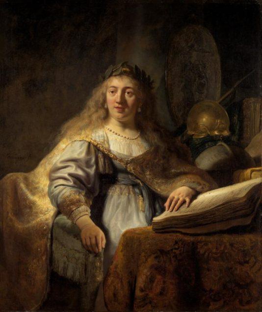Rembrandt van Rijn (1606-1669) Minerva in Her Study 1635The Leiden Collection, New York