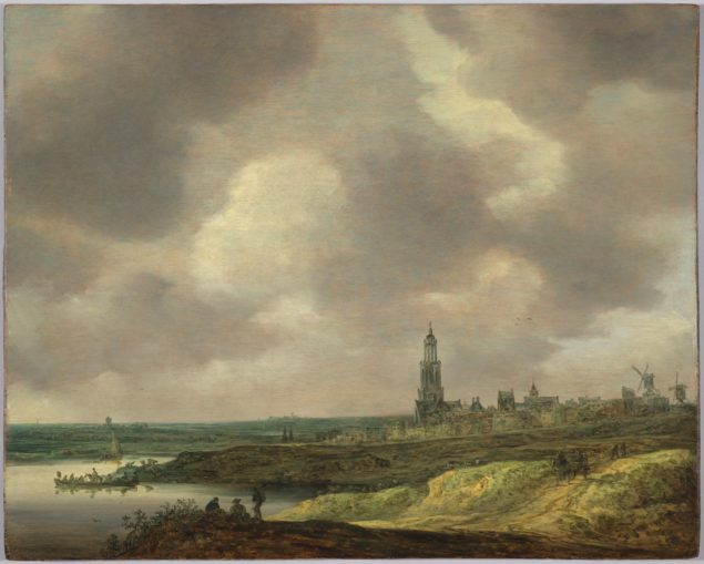 Jan van Goyen (1596-1656), <em>View of Rhenen</em>, ca. 1640 Harvard Art Museums/Fogg Museum, Cambridge, Gift of Peter and Anne Brooke