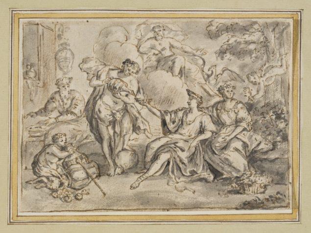 Jan van Cleve III (1646-1716), <em>The Four Seasons</em>, ca. 1670-1700 Museum of Fine Arts, Ghent