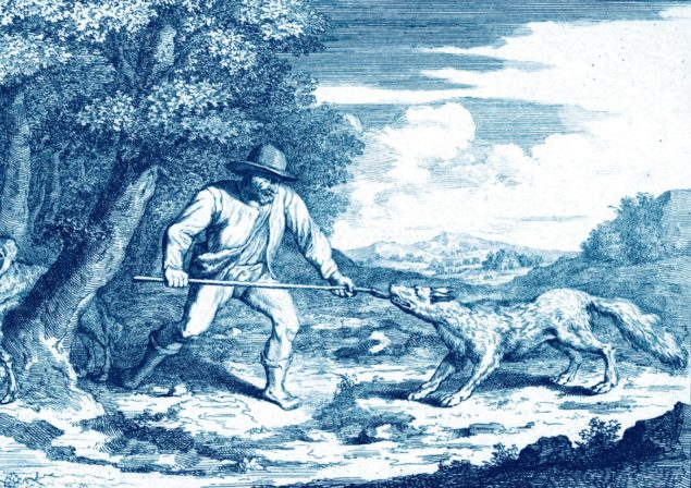 Abraham Bloteling (1640-1690) after Pieter Bruegel the Elder, Good Shepherd, National Library of Latvia, Riga