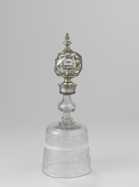 Anonymous, <em>Dice Glass</em>, ca. 1580-90 Rijksmuseum, Amsterdam