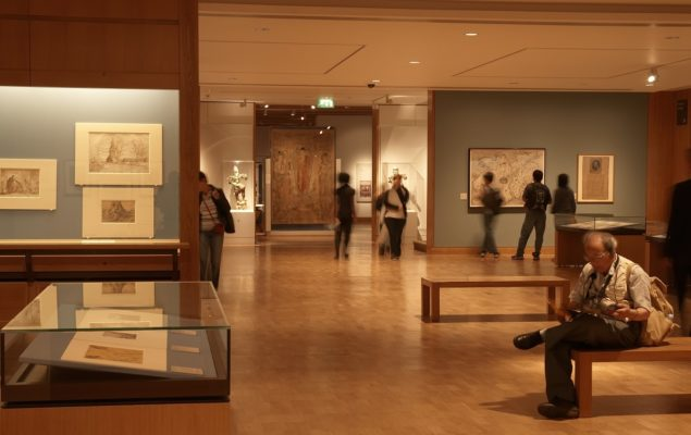 The Prints and Drawings gallery space at the British Museum, Room 90, where Curatorial Fellows will develop a display at the end of their tenure. (Photo: © The British Museum)