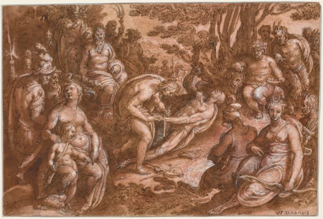 Johannes Stradanus (523–1605), <em>The Flaying of Marsyas</em>, ca.1570–1605 The Cleveland Museum of Art, Cleveland (Ohio)