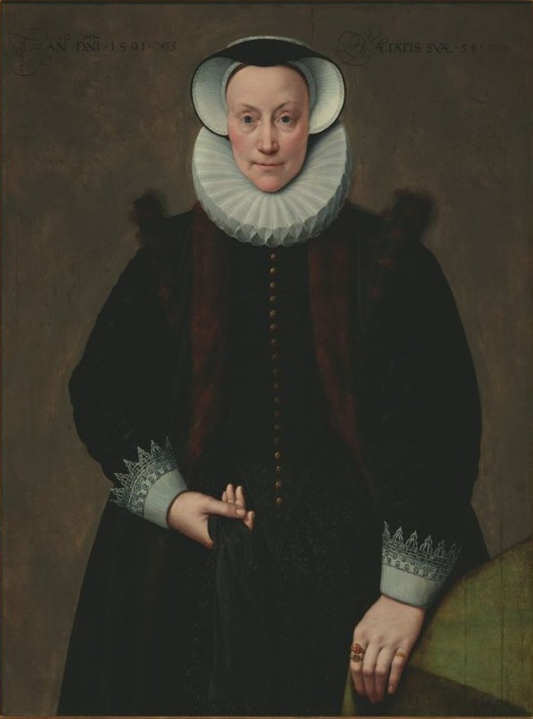 Frans Pourbus the Younger (1569-1622), Portrait of Lady, 1591 Fine Arts Museums of San Francisco