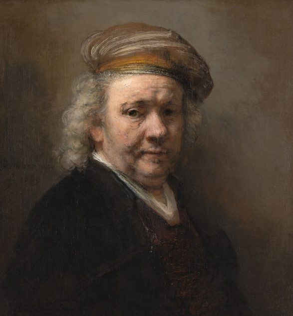 Rembrandt (1606-1669), <em>Self-Portrait</em> 1669 Mauritshuis, The Hague