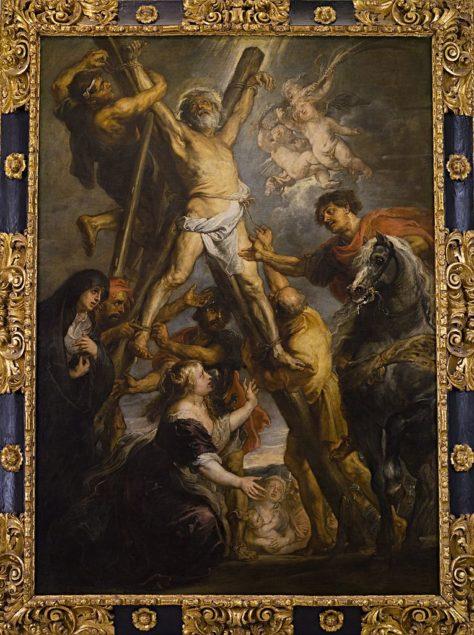 Rubens (1577-1640), The Martyrdom of St. Andrew, 1639 Fundación Carlos de Amberes, Madrid