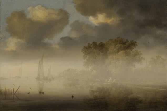 Salomon van Ruysdael (1602-1670) <em>River View</em>1642 Latvian National Museum of Art, Riga