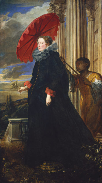 Anthony van Dyck (1599-1641 ), <em>Marchesa Elena Grimaldi Cattaneo</em>, 1623 National Gallery of Art, Washington