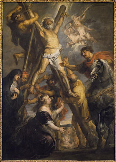 Peter Paul Rubens (1577-1640), <em>The Martyrdom of St. Andrew</em>, ca. 1639, Fundación Carlos de Amberes